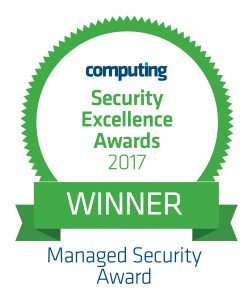 Computing Security Excellence Awards 2017